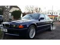 BMW 7 SERIES 740I INDIVIDUAL MODEL FULLY LOADED