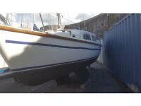 Leisure 23 Sailing Cruiser 5 Berth, 1976 classic yacht. Twin Bilge Keels