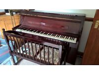 Piano and Stool for Sale.