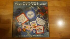New book of cross stitch cards