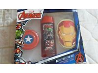 Avengers bath tume fun set New