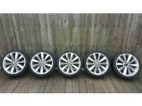"""5 VW Lugano 19"""" alloys 5x112"""