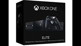 Xbox one elite boxed with 13 games