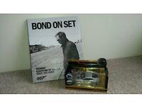 New & unused 007 Bond collectors items