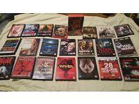 23 horror dvds joblot