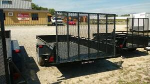 2016 Advantage 6x12 Steel Utility Trailer - Ramp (LS612) London Ontario image 4