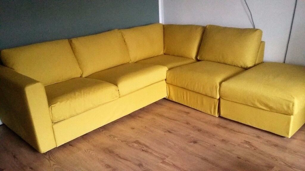 Ikea Vimle 4 Seater Corner Sofa In Norwich Norfolk 3 Seat Review