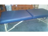 TAO portable massage table, reiki table, extra wide, height adjustable