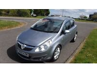 VAUXHALL CORSA 1.2 DESIGN,2009,Alloys,Half Leather,Air Con,Low Miles,Very Clean,Full Service Histor
