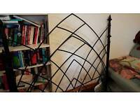 King Sized Bed - Castle Iron