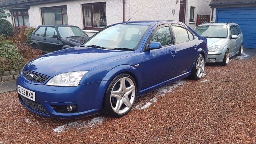 2002 Ford Mondeo St220 30 V6 Slightly Modified Swaps Px In Angus