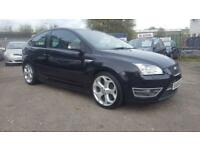 FORD FOCUS 2.5 ST-3 FULL LEATHER 6 SPEED 3 DOOR 2006 / FULL DEALER HISTORY / 2 KEEPERS / HPI CLEAR