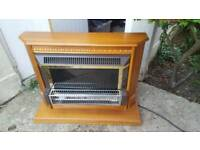 REAL WOOD ELECTRIC FIRE