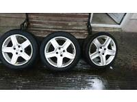 2 Challengers and 1 Vortex for sale. 17 tyre wheel alloy cyclones 306 206 307 gti volcane