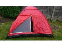 Large 4 man camping tent good condition