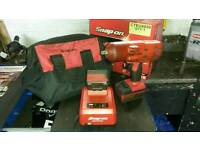 "Snap on 1/2"" cordless impact gun"