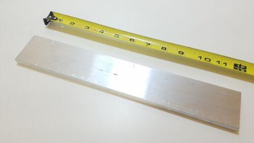 "6061 Aluminum Flat Bar, 1/2"" x 2"" x 12"" long, Solid Stock, Plate, Machining"