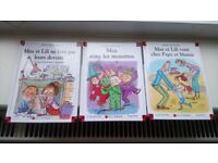 A set of 3 new Max et Lili books in French.