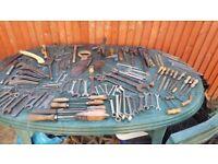 Joblot old tools