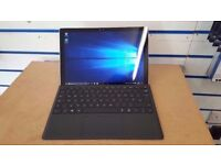 MICROSOFT SURFACE PRO 4 i5 4GB 128GB SSD WITH TYPE COVER AND RECEIPT