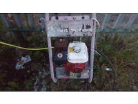 petrol pressure washer