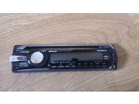 Sony xplod MEX-BT3700U bluetooth MP3 WMA AAC USB AUX CD CD-R CD-RW i POD player