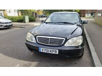 Mercedes 320 s Fully loaded, very good condition IN&OUT one owner LHD 87000 MILES
