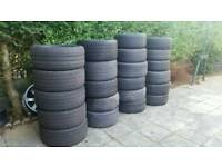 Joblot of 25 tyres - 22, 21, 20, 19, 18 and 17 inch!!