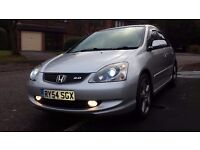 Honda Civic SPORT 1998cc, Silver, Great Condition !!!