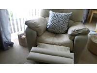 3 piece cream sofa for sale