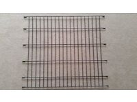 Ellie-Bo Divider for Dog Crate Cage, X-Large, 42-Inch, Black - Brand New/Unused