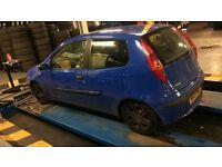 Fiat Punto 1 years mot