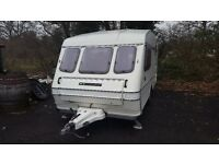 COMPASS RALLYE 2 BIRTH CARAVAN WITH FULL SIZE AWNING