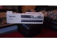 SONY SOUNDBAR 2.1 CH WITH WIRELESS SUBWOOFER /BLUETOOTH/300W/USB/NFC/ AS NEW NO OFFERS