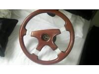 Lovely mercedes benz vintage steering wheel