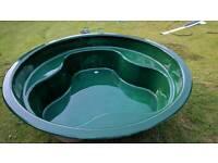 220cm wide round fish pond
