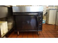 BLUE SEAL Turbofan - Full Size Tray Electric Convection Oven And Cooktop