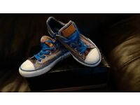 Cool striped Converse trainers Kids 13.5