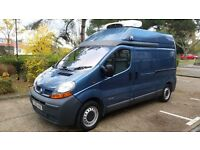 Renault Trafic 1.9DCI LWB Refrigerated fridge van, temperature controlled like Vauxhall Vivaro