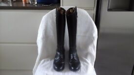 Ladies leather dressage/riding boots