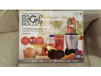 BRAND NEW Magic Bullet 17 Piece 6 in 1 Food Processor System.
