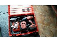 Hilti Impact Gun Wrench 22V very powerful like snap on makita hitachi