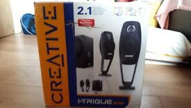 Creative I-Trigue 3220 speakers (used in great condition)