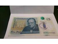 Rare £5 NOTE