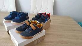 Clarks shoes toddler first shoes bundle size 6.5