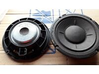 VW SHARAN,SEAT ALHAMBRA UP TO 2010 & FORD GALAXY UP TO 06 DOOR SPEAKERS EX CONDITION £7.50 FOR BOTH
