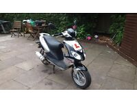50cc scooter 2014 jcm long mot sandbach cheshire
