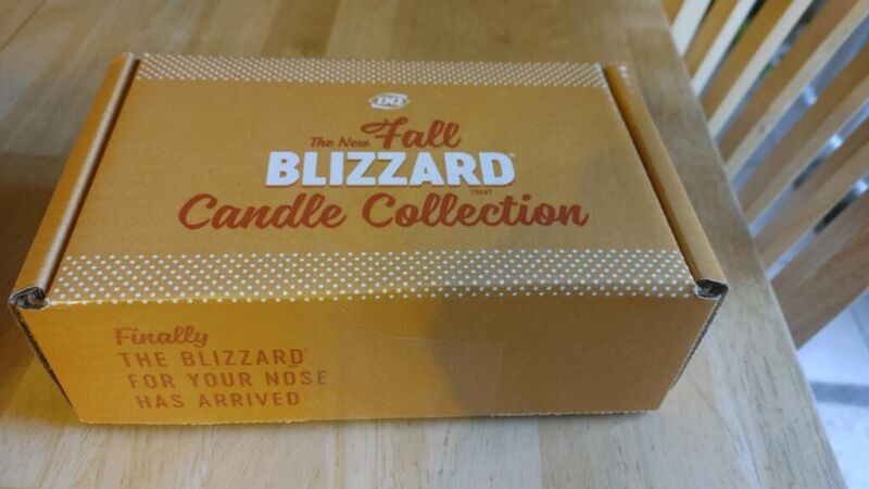 DAIRY QUEEN 2020 Fall Collection Blizzard Candles SET OF 6 SOLD OUT