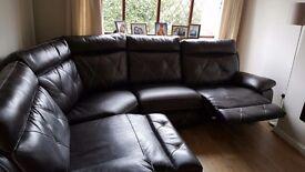 Large scs reclining corner sofa