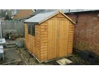 8x6 double door wooden shed